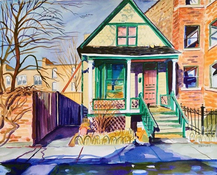 Yellow House, Green Trim