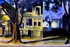 Summer Night, Roscoe Village