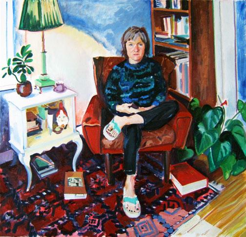 Portrait of V. Schneider